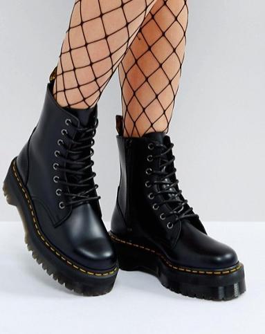 Dr Martens Jadon Flatform Boots