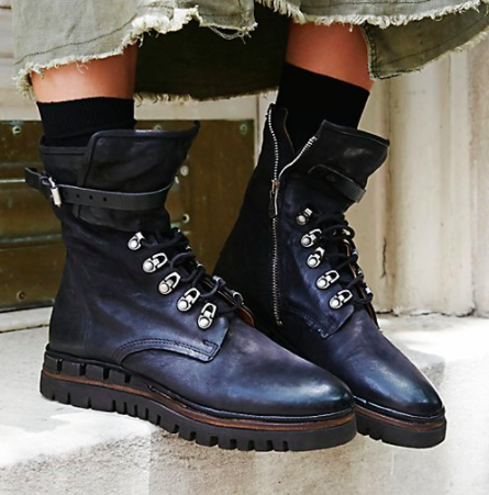 FP Dark Coastal Lace-Up Boot
