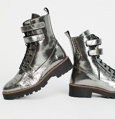Shellys London Finn Combat Boot