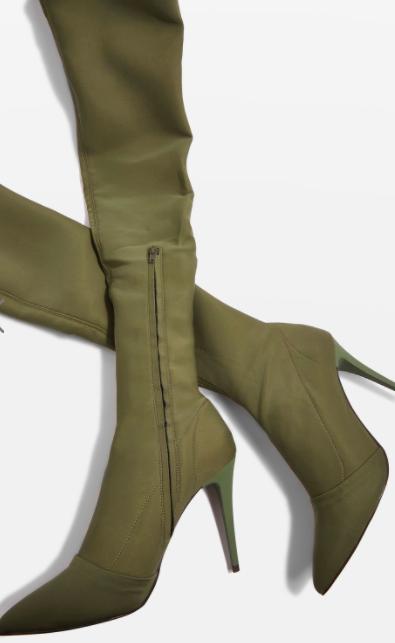 TOPSHOP BUBBA Sock Boots