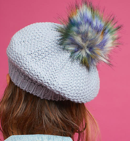 Anthropologie Glacia Knit Beret