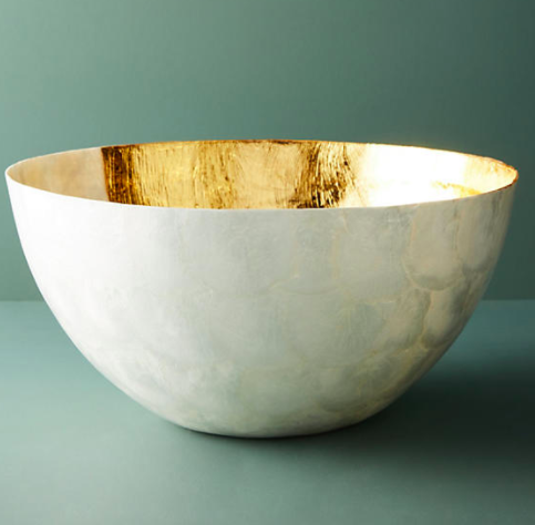 Anthropologie Ursula Serving Bowl