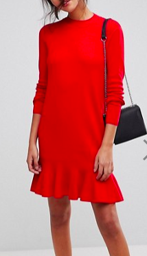 Y.A.S Drop Waist Knitted Dress