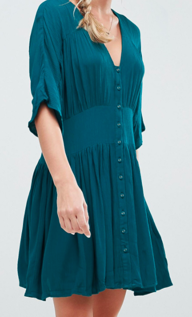 ASOS Casual Mini Tea Dress