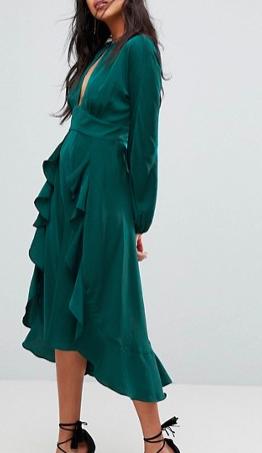 The Jetset Diaries Songbird Midi Dress
