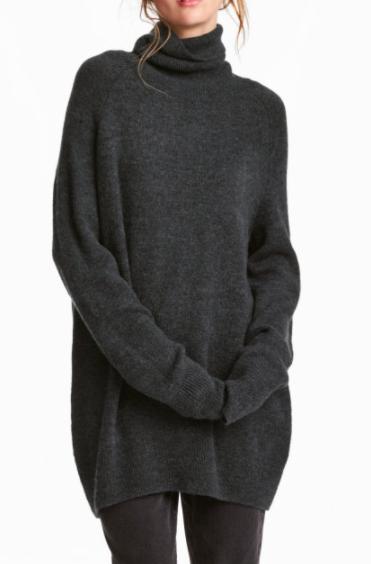 HM Knit Turtleneck Sweater