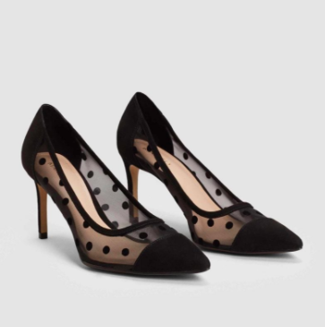 Plumeti stiletto shoes