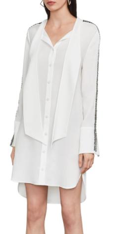 Effie High-Low Shirt Dress
