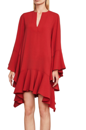 Tegan Ruffle Dress