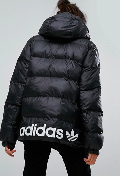 adidas Originals Oversized Padded Jacket With Hood