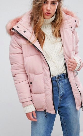 River Island Oversized Padded Jacket