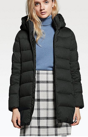 UNIQLO WOMEN STRETCH DOWN COAT