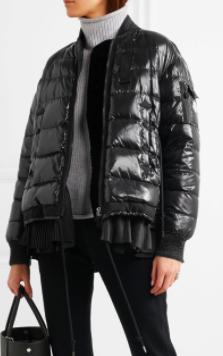Lucy Peplum Down Puffer Jacket MONCLER