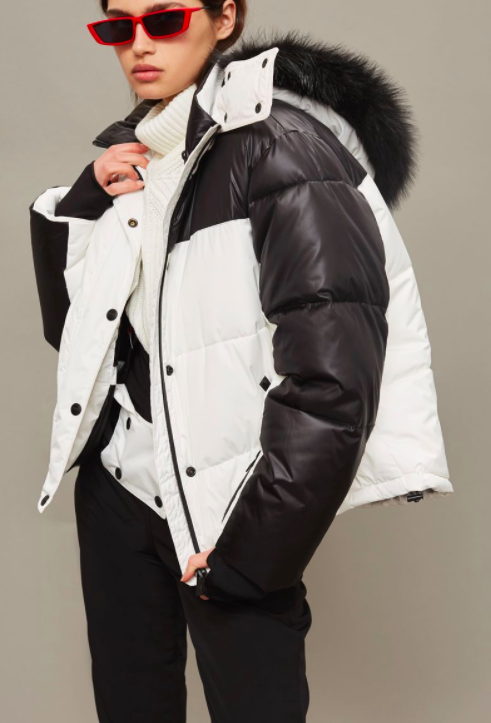 SNO Monochrome Ski Puffer Jacket