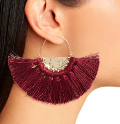 Oversize Fan Earrings BP.