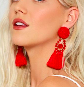 Shake It Off Tassel Earrings
