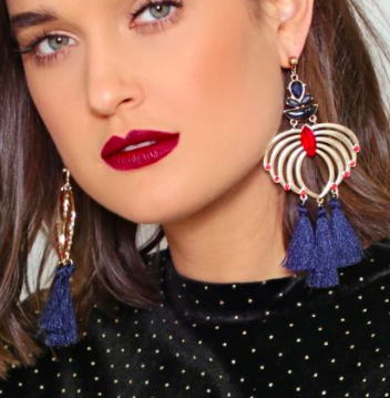 Nasty Gal Swing By Tassel Earrings