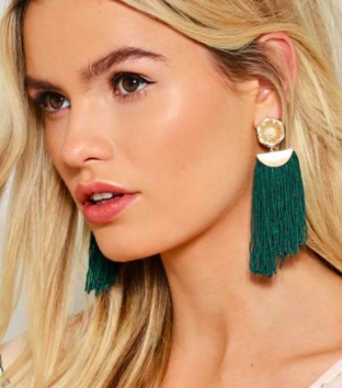 Let It All Hang Out Fringe Earrings