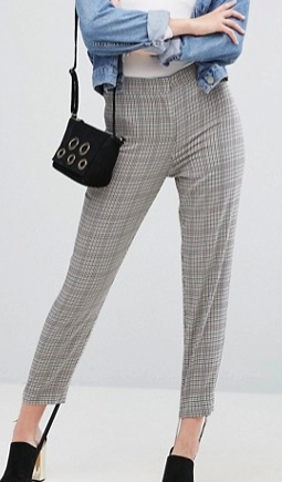 ASOS Tailored Herritage Houndstooth Pant with Stirrup