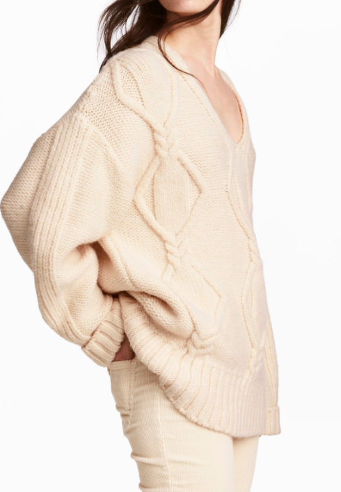 HM Cable-knit Sweater
