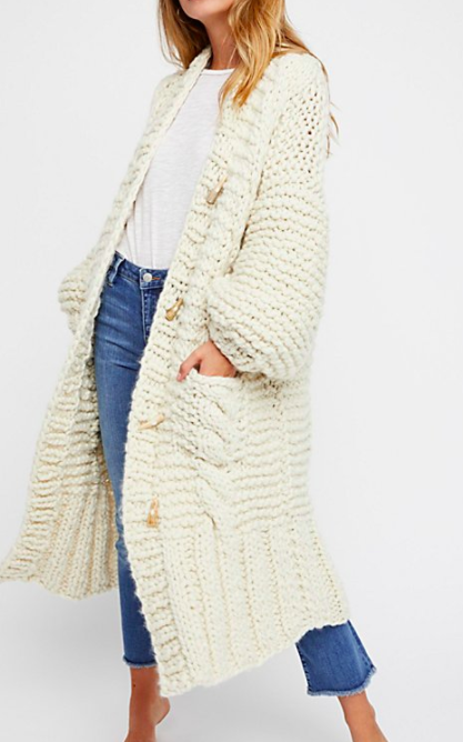 Loopy Mango Rockstar Sweater Coat