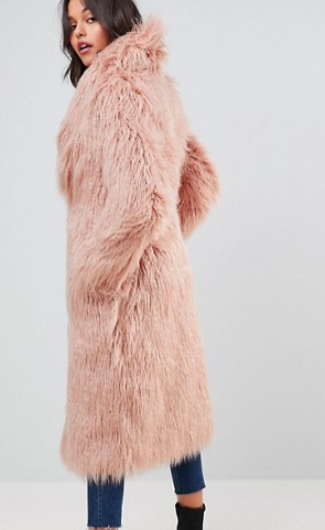 Boohoo Faux Fur Coat