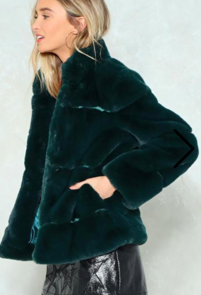 Nasty Gal As You Fur Faux Fur Coat