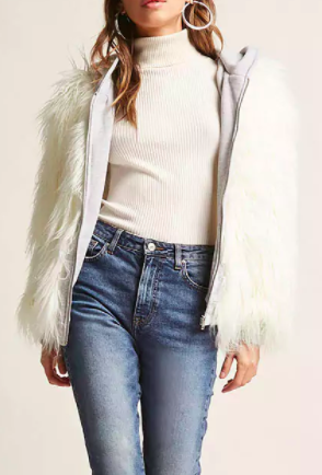 Forever 21 Shaggy Faux Fur Jacket