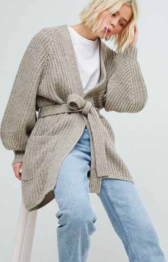 Weekday Ribbed Cardigan