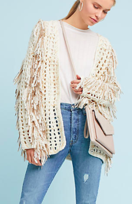 Orna Fringed Sweater