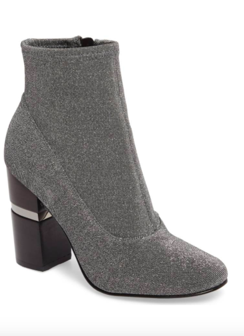 Padda Embellished Stretch Bootie MARC FISHER LTD