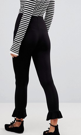 ASOS Legging with Fluted Hem