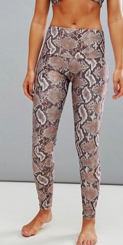 Onzie Snake Print Leggings