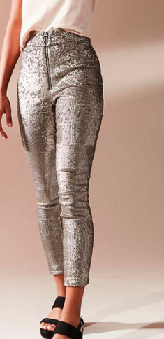 UO Leandra Sequin Legging