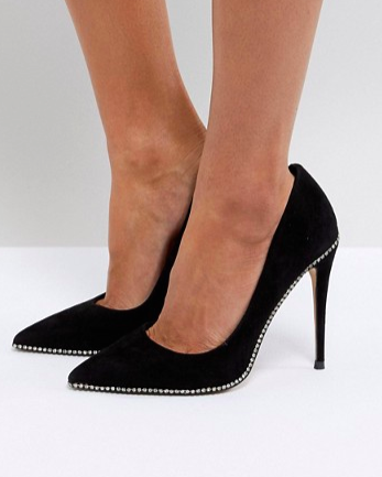KG By Kurt Geiger Envy Suede Pumps