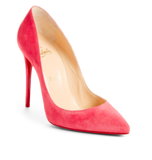Pigalle Follies Pointy Toe Pump CHRISTIAN LOUBOUTIN