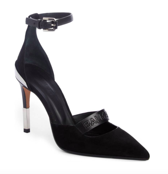 Chance Ankle Strap Pointy Toe Pump BALMAIN