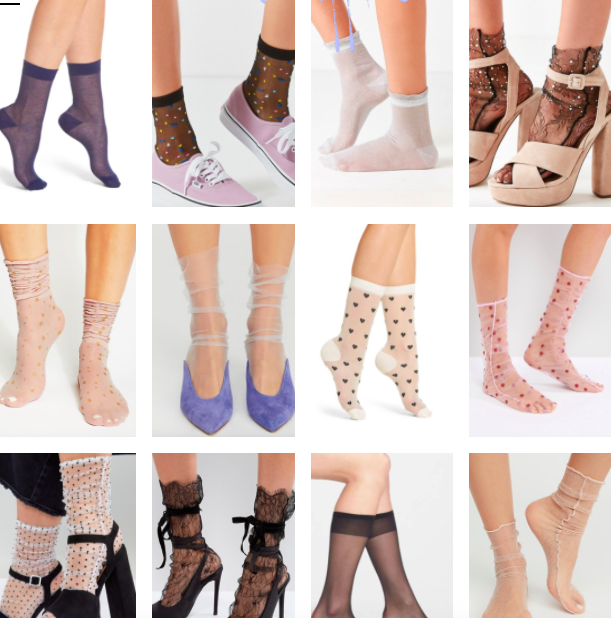 684c5cdbe Currently Loving: Sheer Tights and Unique Socks   Truffles and Trends