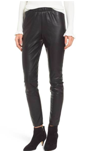 Zowie Faux Leather Pants CUPCAKES AND CASHMERE