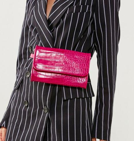 Lera Croc Convertible Belt Bag