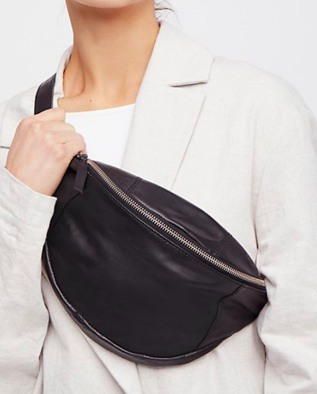 FP Brooklyn Leather Pocket Belt