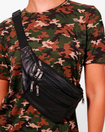 Rosie Basic Pocket Front Bumbag