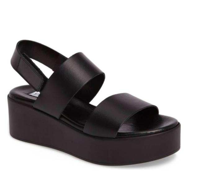 Rachel Platform Wedge Sandal STEVE MADDEN