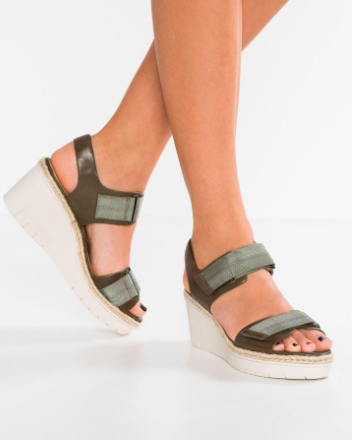 Palm Shine Wedge Sandal CLARKS®