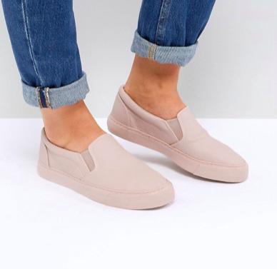 ASOS DIANNA Slip On Sneakers