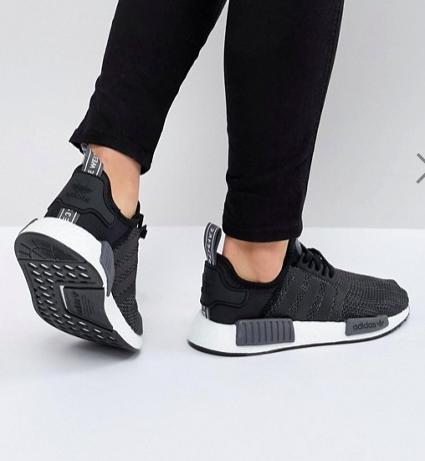 adidas Originals NMD R1 Sneakers In Black