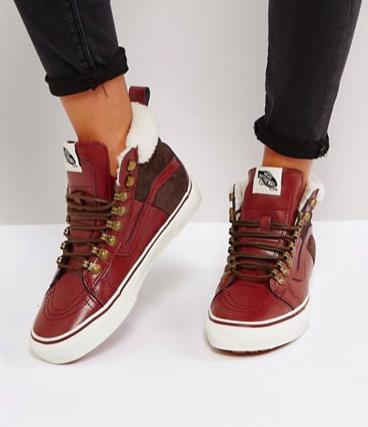 Vans Sk8 Hi Mte Shearling Lined Sneakers