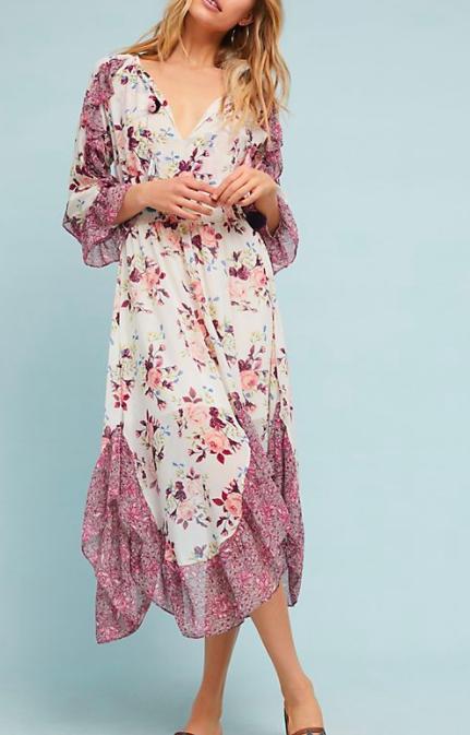 Francoise Floral Dress MISA