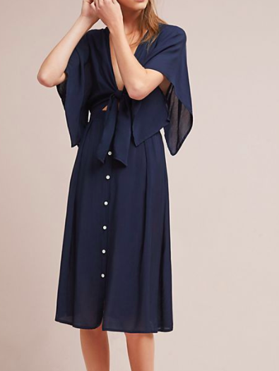 Faithfull Market Tie-Front Dress