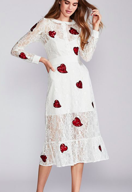 Love and Lemons La Zosia Midi Dress